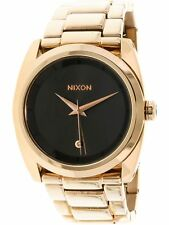 Nixon Women's Queenpin A9352046 Gold Stainless-Steel Japanese Quartz Fashion ...