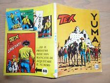 Tex Willer n 87 lire 200 Aut 2926 buono/ottimo prima edizione