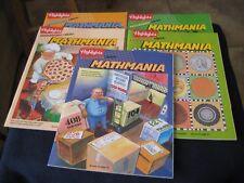 HIGHLIGHTS PUZZLEMANIA+MATH=Mathmania Children Activity Books... Home School SIX