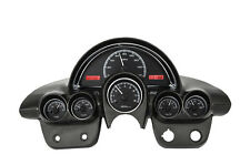 Dakota Digital 58-62 Chevy Corvette Analog Dash Gauges Black Red VHX-58C-VET-K-R