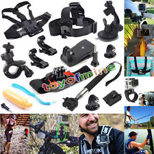 12 in 1 Professional Kit Accessories Bundle for Gopro HD Hero 4 3+ 3 2 1 Sj