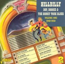 HILLBILLY BOP BOOGIE & HONKY TONK BLUES VOL.1 1948-50 2 CD NEU