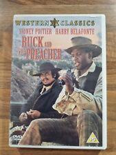 BUCK AND THE PREACHER DVD Film Movie Cert PG