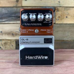 HardWire DL-8 Delay/Looper Pedal