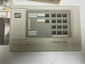 ARITECH MOOSE ADT SAFEWATCH PLUS KEYPAD TOUCHPAD CD077 REFURBISHED
