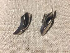 sterling silver earrings vintage