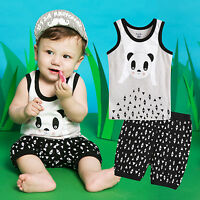 8408618d Vaenait Baby Toddler Kids Girls Boys Sleeveless Outfit set