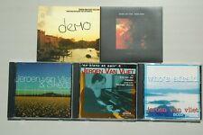 5xcd Jeroen van Vliet Moore Vermeer Erker/ Solo Piano cd ex+