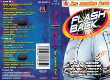 "K 7 AUDIO TAPE  ""FLASH BACK / LES ANNEES LOVE"" (BARDOT HALLYDAY FRANCE GALL...)"