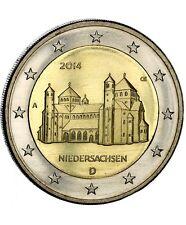 Pièce 2euros commémorative Allemagne 2014 – Eglise Saint Michel