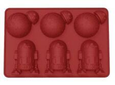Star Wars bac à glaçons BB-8 & R2-D2 moule en silicone Ice Cube Tray 026498