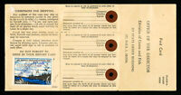 US Stamps Minnesota # A1 VF On Hunting Fishing License Scarce Catalog $125.00