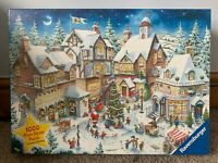 Ravensburger 'The Christmas Village'  1000 Pieces Jigsaw Puzzle Limited Edition