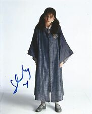 Shirley Henderson Signed Harry Potter 10x8 Photo AFTAL