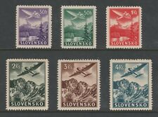 +++ SLOVAKIA 1939 MINT AIRMAIL DEFINITIVE COMPLETE SET +++