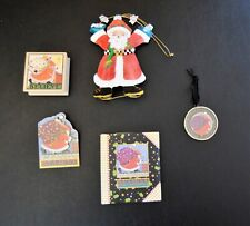 Mary Engelbreit Believe Santa Ornaments, Stamp, Mouse Pad And More