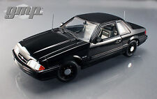1/18 GMP 1992 Ford Mustang 5.0 FBI Pursuit noirci limitée to 948pc