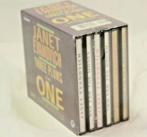 Three Plums In One by Janet Evanovich 9 CD AUDIOBOOK SET 3 Stephanie Plum Novels