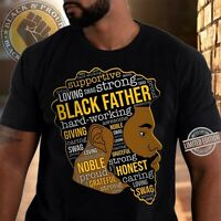 Gildan Black Father Characteristic Dad Happy Father's Day Cotton T-Shirts S-5XL