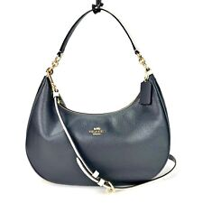 COACH F25896 EAST/WEST HARLEY HOBO IN COLOR BLOCK MIDNIGHT/CHALK NWT $395