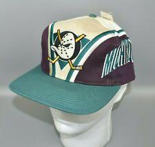 Anaheim Mighty Ducks Vintage NHL Twins Enterprise Men's Snapback Cap Hat