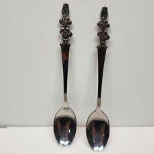 Vintage Nestle Quik Bunny Rabbit Spoon Imperial Korea 18-8 stainless steel Lot 2
