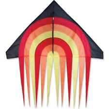 "Kite - Fire Stream Tail 56"" Single Line Delta Kite With String PR 33142"