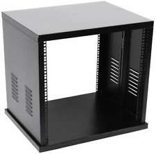 "8HE 19"" Stahlrack Server Schrank Tischrack Netzwerk Verteiler Rack Serverschrank"
