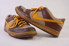 2008 Nike SB Dunk Low 6.0 Dark Brown Tan Size US 10.5 UK 9.5 RARE