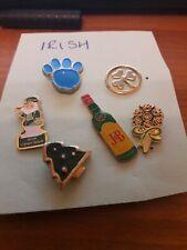 irish theme enamel pin lapel brooch badges