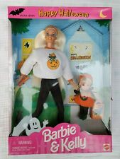 Happy Halloween Special Edition Barbie & Kelly Gift Set 1996 NRFB