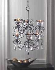 Tea light candle chandeliers ebay french country mozeypictures Gallery