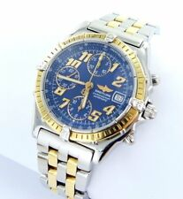 Breitling Chronomat D13350 Stahl/Gold Chronograph Automatik Herrenuhr Papiere