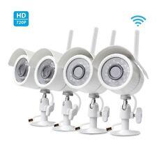 Zmodo 4 720p WiFi Smart Home Wireless IP IR Security Camera System Night Vision