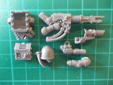 Warhammer 40K - Space Marine Devastator squad Lascannon - 40k bits
