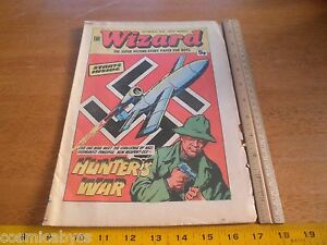 1976 British comic book The Wizard Hunter's War Scrappy Frankie and Johnny