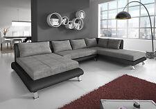 Sofa Couchgarnitur Couch Sofagarnitur ONTARIO 4 U Wohnlandschaft Polsterecke
