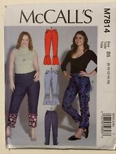 McCall's Sewing Pattern M7814 Misses'/Women's Pants 8 -16