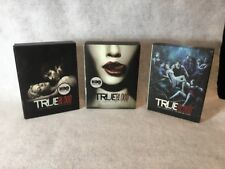 True Blood Seasons 1 2 and 3 HBO TV Series DVD Sets with Bonus Features