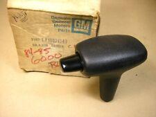 1984 1985 Pontiac Chevy & Buick Black Gear Shift Handle NOS, 10028349
