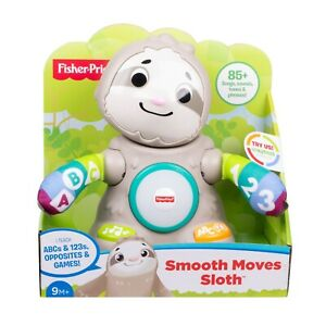 Fisher-Price Linkimals Smooth Moves Sloth Interactive Toy