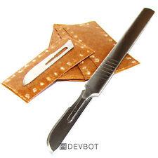 Cutter Scalpel Acier + 10 lames. DIY, précision, Bricolage