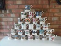 Emma Bridgewater Large Collection of ½ Pint Mugs 26 Different Designs - New