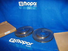 95 96 97 98 99 00 Pair Stratus Breeze Mopar 4879229AB Front Disc Brake Rotors