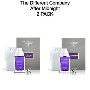 2 PACK - After Midnight By The Different Company Natural Spray 100 ml 3.3 fl oz