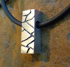 """Scottish Ola Gorie 925 Silver Pendant 18"""" Rubber Wire Boxed"""