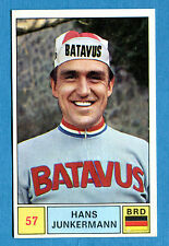 SPRINT '71 - PANINI - Figurina-Sticker n. 57 - H. JUNKERMANN - GERMANIA - Rec