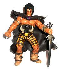 """2000AD Comics SLAINE 6"""" figure with sword, RARE judge dredd"""