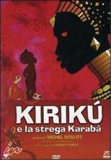 DVD KIRIKU' E LA STREGA KARABA' - rarissimo fuori catalogo