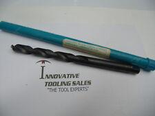 1/2 Taper Length HSS Drill GP Black Oxide Greenfield Brand 1pc